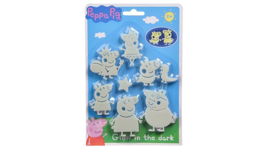 Simba Peppa Pig Glow in the dark
