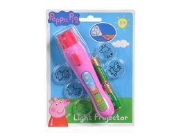 Simba Peppa Pig Taschenlampe Lichtprojektor