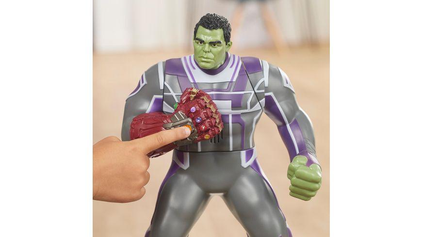 Hasbro Marvel Avengers Endgame Power Punch Hulk 35 cm Actionfigur