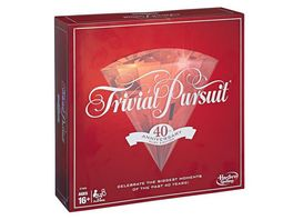 Hasbro Gaming Trivial Pursuit 40TH