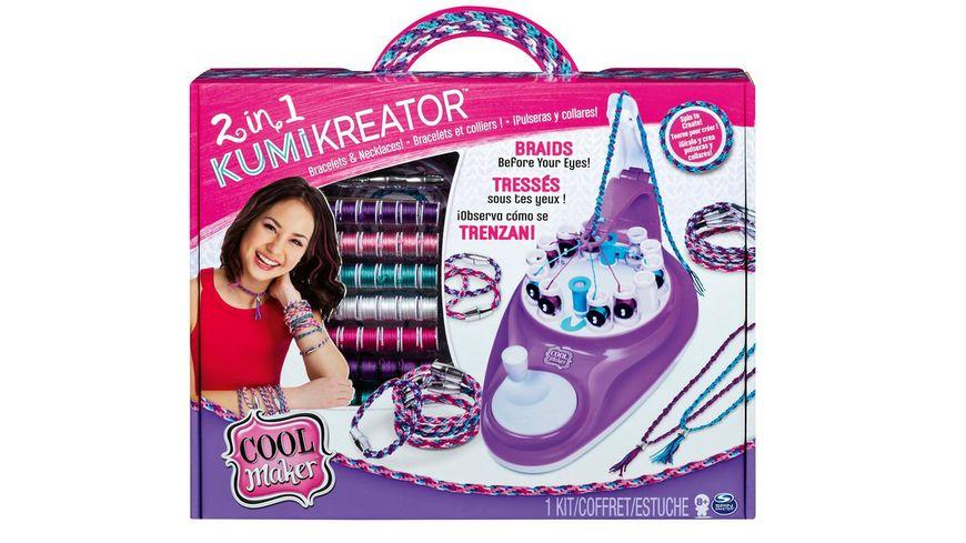 Spin Master Cool Maker 2 in 1 KumiKreator Armbaender und Halsketten