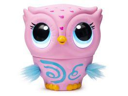 Spin Master Owleez fliegende interaktive Eule mit Licht und Soundeffekten pink
