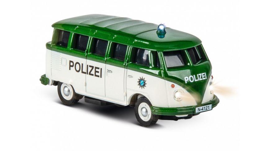 Carson 1 87 VW T1 Samba Bus Polizei 2 4G RTR