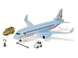 SIKU 5402 World Verkehrsflugzeug mit Zubehoer