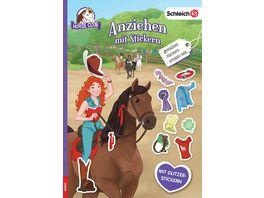 SCHLEICH Horse Club Anziehen mit Stickern