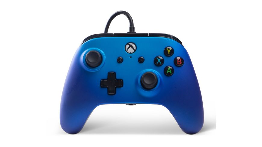 POWER A XboxOne PC Wired Controller Sapphire Fade