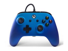 POWER A XboxOne PC Wired Controller Sapphire Fade