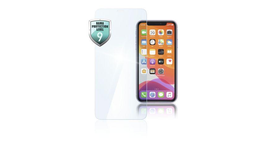 Echtglas Displayschutz Premium Crystal Glass fuer Apple iPhone 11