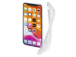 Hama Cover Crystal Clear fuer Apple iPhone 11 Transparent