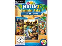 Match 3 Sammlerpaket Aegypten Edition