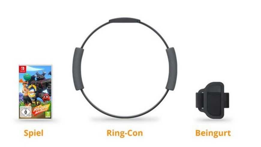 Ring Fit Adventure inkl Ring Con Beingurt