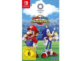 Mario Sonic bei den Olympischen Spielen Tokyo