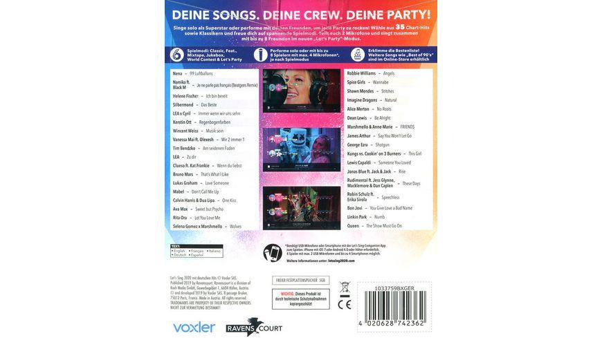 Let s Sing 2020 Mit Deutschen Hits 2 Mikrof