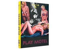 Play Motel Limited Edition Cinestrange Extreme Edition Gelbe Edition Nr 01 Mediabook Cover A Bonus DVD DVD Soundtrack