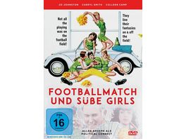 Footballmatch und suesse Girls