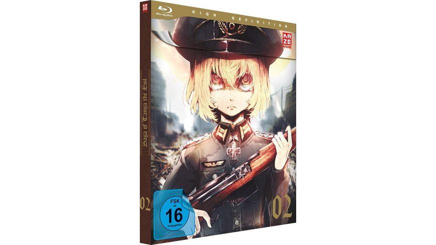 Saga of Tanya the Evil Blu ray 2