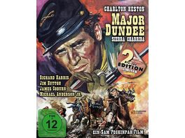 Major Dundee Sierra Charriba Major Dundee Mediabook 2 Blu rays
