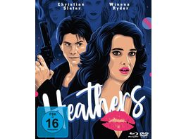 Heathers Mediabook 1 Blu ray 1 DVD 1 Bonus Blu ray