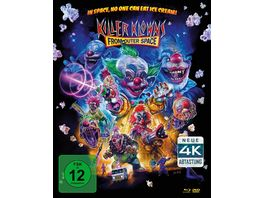 Killer Klowns Remastered Mediabook 1 Blu ray 1 DVD 1 Bonus DVD