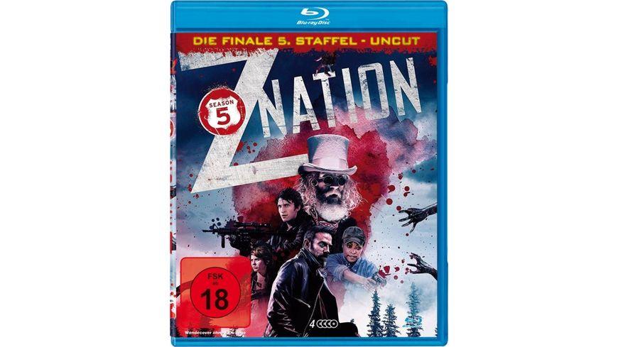 Z Nation Staffel 5 UNCUT Edition 4 BRs