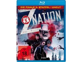 Z Nation Staffel 5 UNCUT Edition 4 BRs