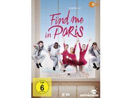 Find me in Paris Staffel 2 1 2 DVDs