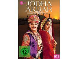 Jodha Akbar Die Prinzessin und der Mogul Box 18 239 248 3 DVDs