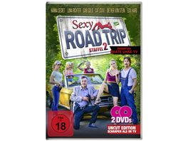Sexy Road Trip 2 2 Disc Uncut Edition 2 DVDs