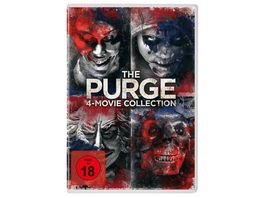 The Purge 4 Movie Collection 4 DVDs
