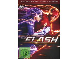 The Flash Die komplette 5 Staffel 5 DVDs