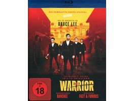 Warrior Die komplette 1 Staffel 3 BRs