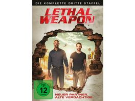Lethal Weapon Die komplette 3 Staffel 3 DVDs