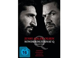Jussi Adler Olsen Sonderdezernat Q Collection 4 DVDs