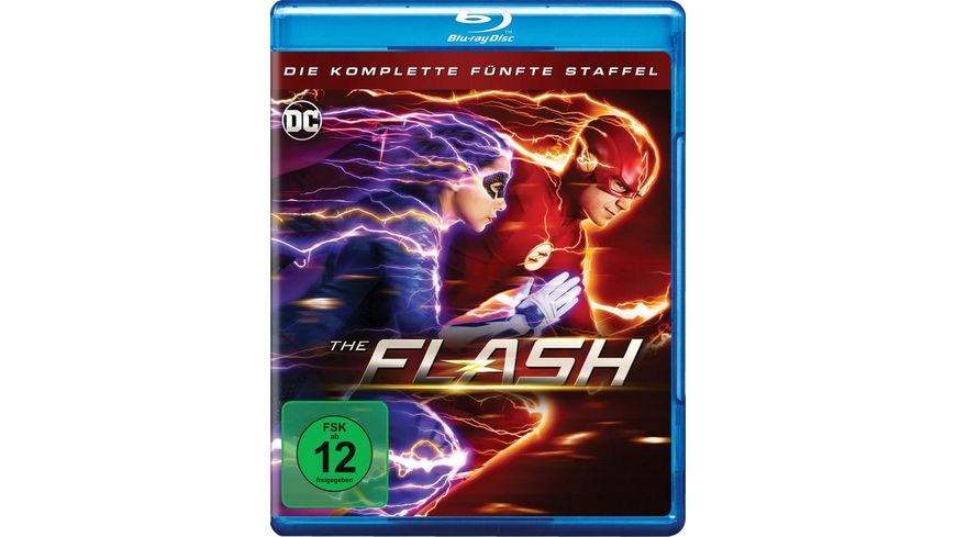 The Flash Die komplette 5 Staffel 4 BRs