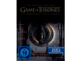 Game of Thrones Staffel 8 Limited Steelbook Edition 4K Ultra HD