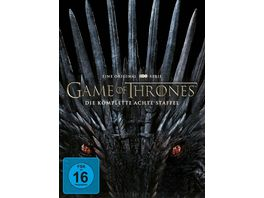 Game of Thrones Staffel 8 4 DVDs