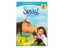Spirit Wild und frei Die komplette Staffel 1 4 DVDs