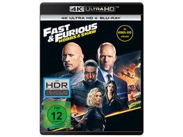 Fast Furious Hobbs Shaw 4K Ultra HD Blu ray 2D