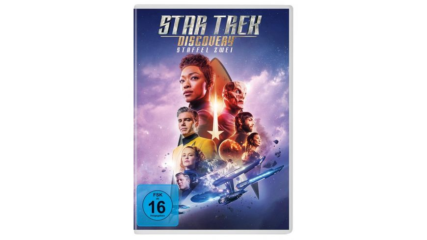 Star Trek Discovery Staffel 2 5 DVDs