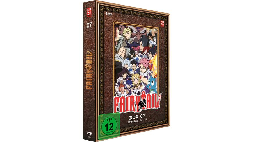 Fairy Tail TV Serie DVD Box 7 Episoden 151 175 4 DVDs