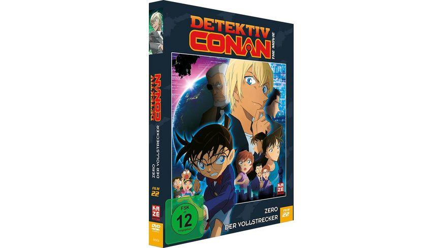 Detektiv Conan 22 Film Zero der Vollstrecker DVD Limited Edition