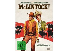 McLintock 2 Disc Limited Collector s Edition im Mediabook Blu ray DVD