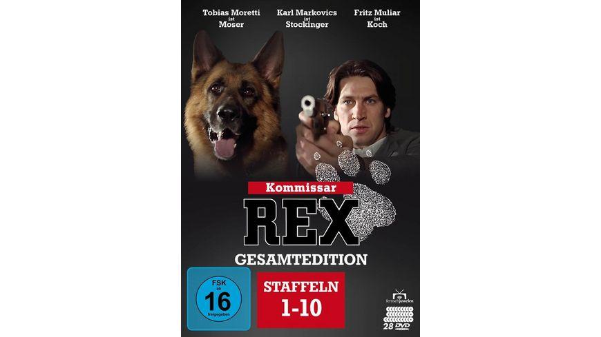 Kommissar Rex Gesamtedition Staffeln 1 10 Alle 119 Folgen Bonus Disc 28 DVDs Fernsehjuwelen