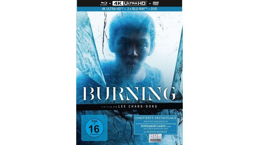 Burning 4 Disc Limited Collector s Edition Mediabook 4K Ultra HD Blu ray Bonus Blu ray DVD