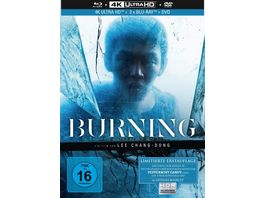 Burning 4 Disc Limited Collector s Edition Mediabook 4K Ultra HD Blu ray Bonus Blu ray DVD