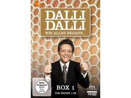 Dalli Dalli Wie alles begann Box 1 Die Shows 1 26 Fernsehjuwelen 10 DVDs