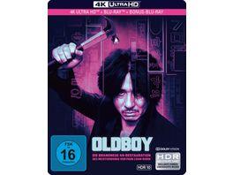Oldboy Limited SteelBook 4K Ultra HD HD Blu ray 2D 2 Bonus Blu rays