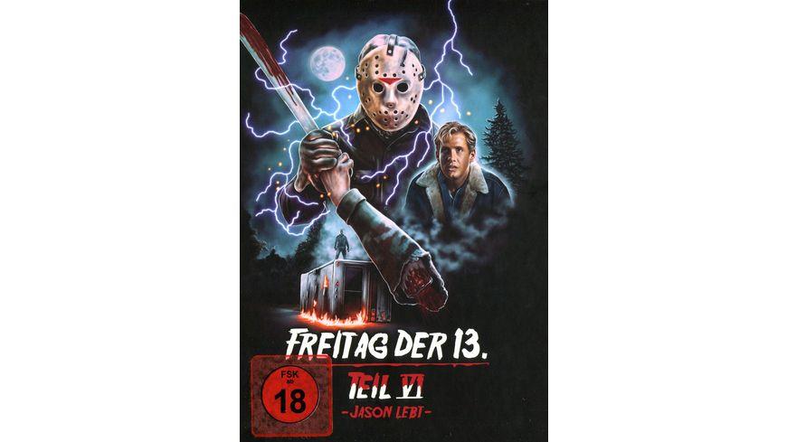 Freitag der 13 Teil 6 Collectors Edition Mediabook Cover D