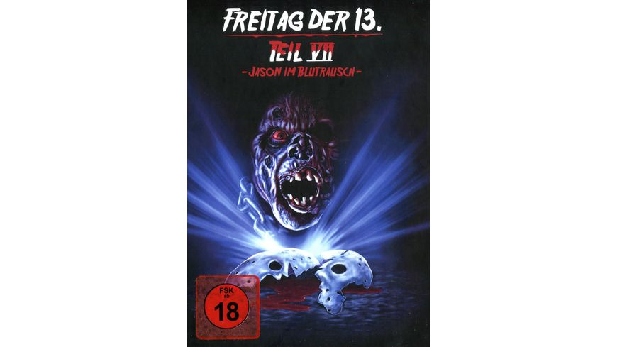Freitag der 13 Teil 7 Collectors Edition Mediabook Cover C
