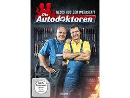 Die Autodoktoren Neues aus der Werkstatt Vol 1 4 DVDs